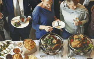 Catered Events - Norfolk CPA Firm