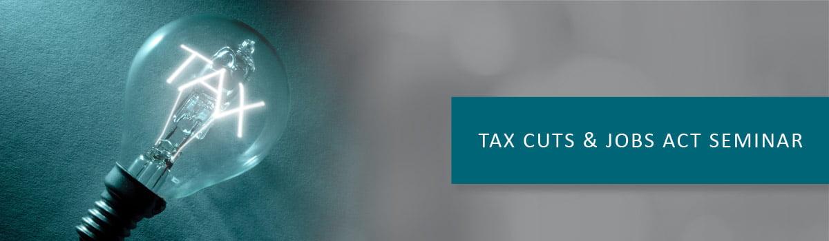 Tax Reform Seminar - Baltimore CPA