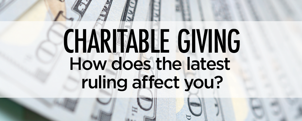 Charitable Giving Essentials - Baltimore CPA