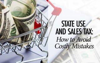 Sales Use Tax Errors - Baltimore CPA