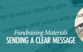 Fundraising Materials Focus