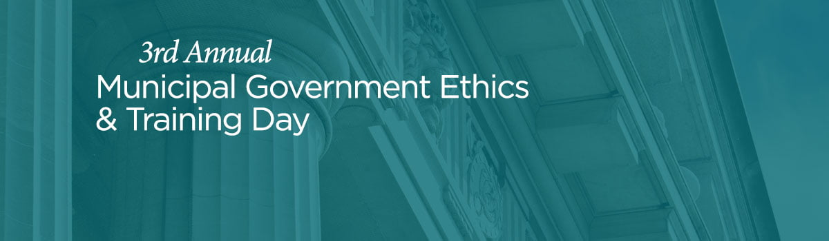 Government Ethics Training Day