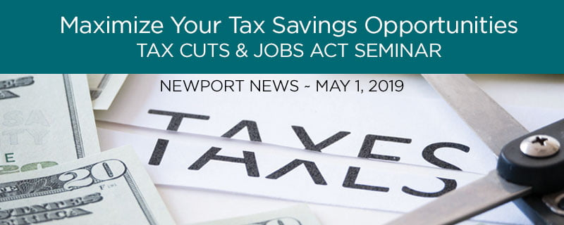 Tax Reform Update - Baltimore CPA Firm
