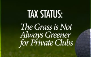 Tax Status Private Clubs - Virginia CPA