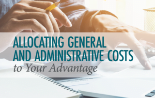 Allocating Costs - Government Agencies