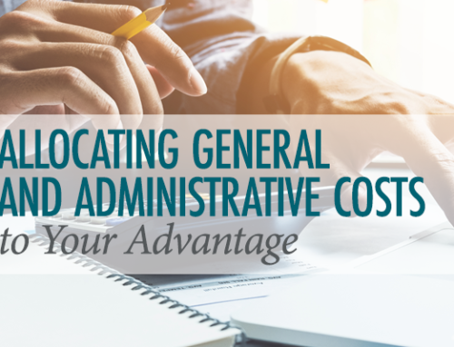 Allocating General and Administrative Costs to Your Advantage
