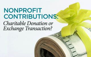 Donation Exchange Transaction - Baltimore CPA