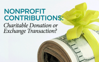 Donation Exchange Transaction - Baltimore CPA