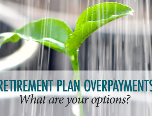 Options Following Overpayment into a Retirement Plan