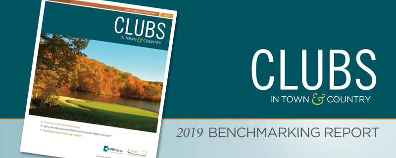 2019 Town and Country Benchmarking Report for Clubs