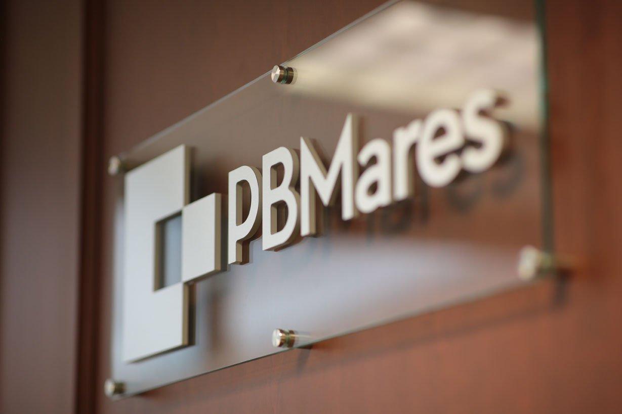 pbmares logo sign