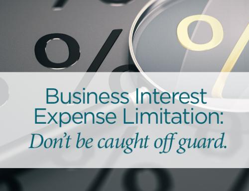 Business Interest Limitation Affects More Businesses