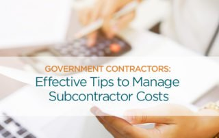 effective tips to manage subcontractor costs