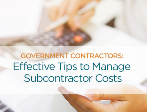 Government Contractors-Protect Against Unallowable Subcontractor Costs