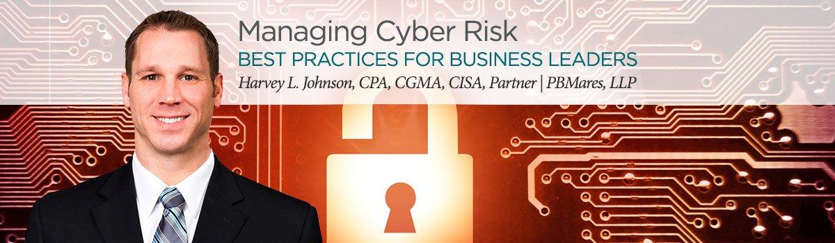 manage cyber risk seminar october 2019