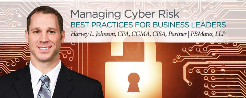 managing cyber risk seminar pbmares