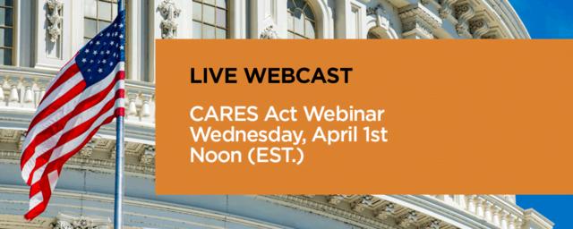 live webcast cares act pbmares