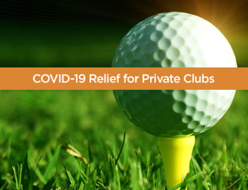 What Taxable Clubs Should Know About the CARES Act