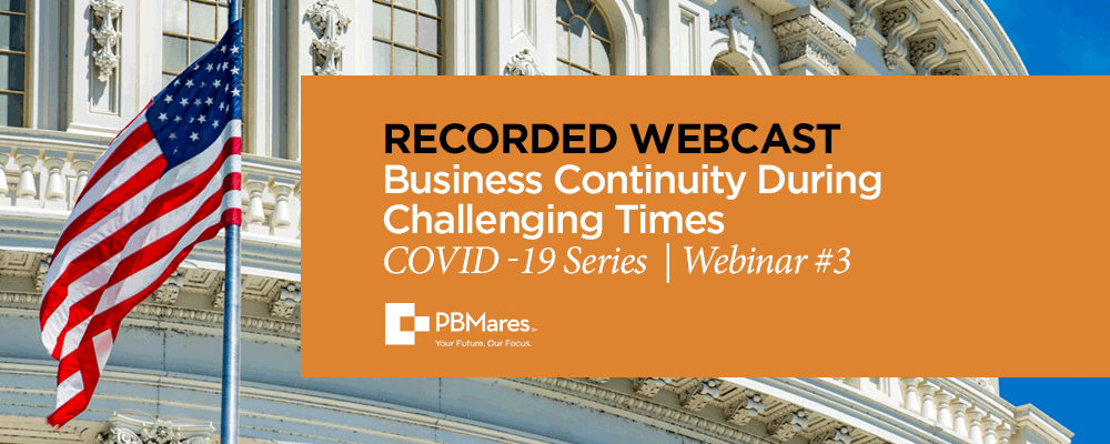 Covid webcast business continuity during challenging times