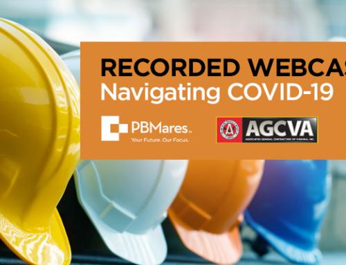 PBMares Presents COVID-19 Insights to the AGCVA
