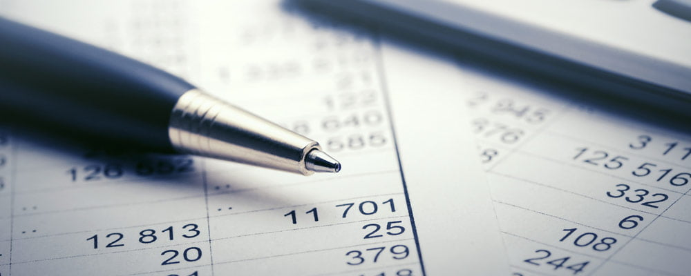 financial spreadsheet accounting income