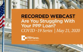 webinar 5 ppp loan pbmares