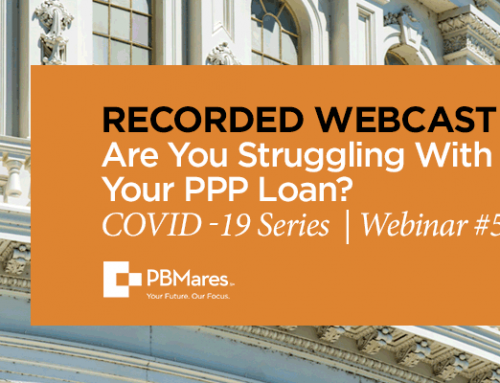 Are You Struggling With Your PPP Loan?