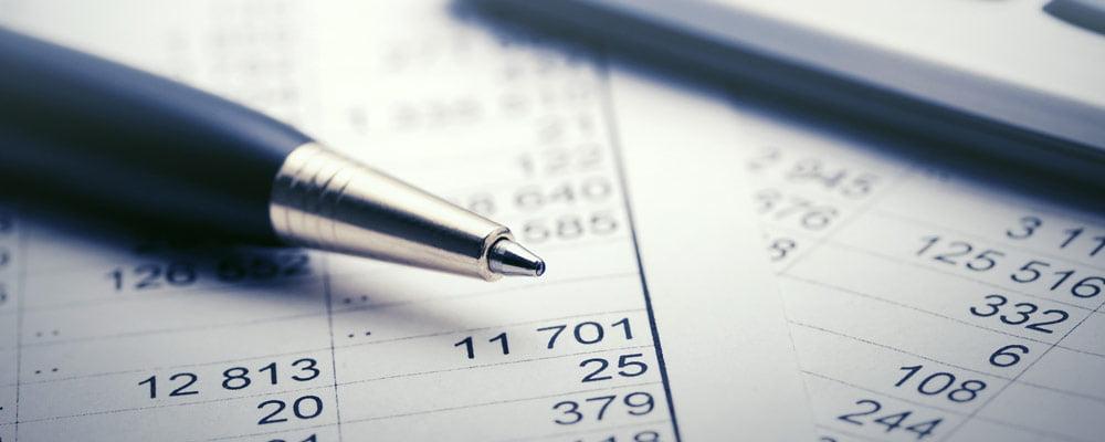 accounting spreadsheet