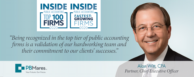 pbmares ranked top 100 firms 2020