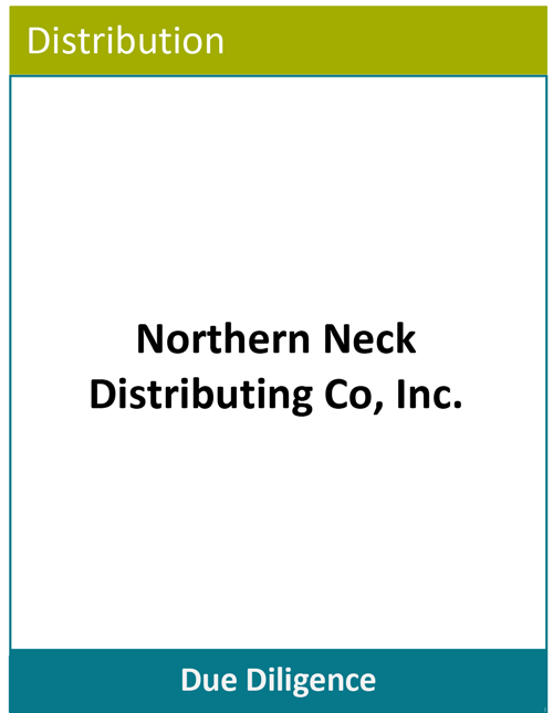 PBMares Due Diligence - Northern Neck Distributing Co