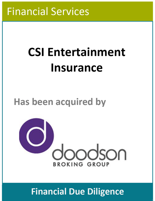 PBMares Financial Due Diligence - Doodson Broking Group