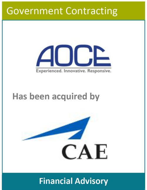 PBMares Financial - AOCE - CAE