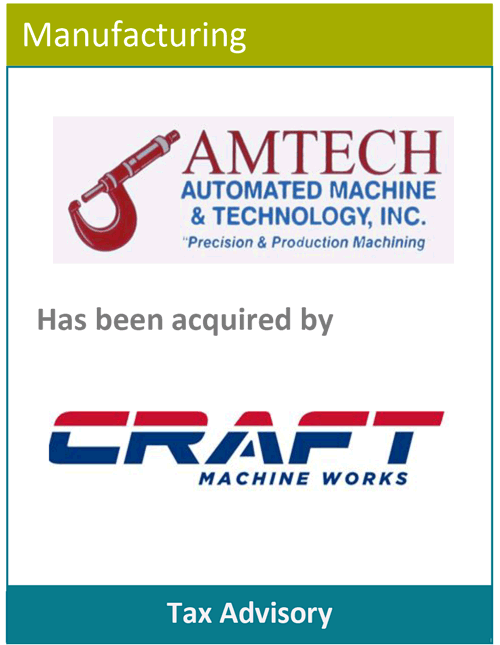 PBMares Tax - Amtech - Craft