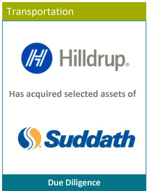 PBMares Due Diligence Hilldrup - Suddath