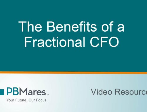 Benefits of a Fractional CFO