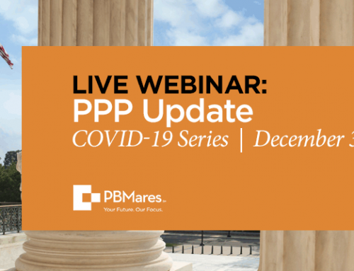 PPP Webinar: Forgiveness Application and Legislative Update