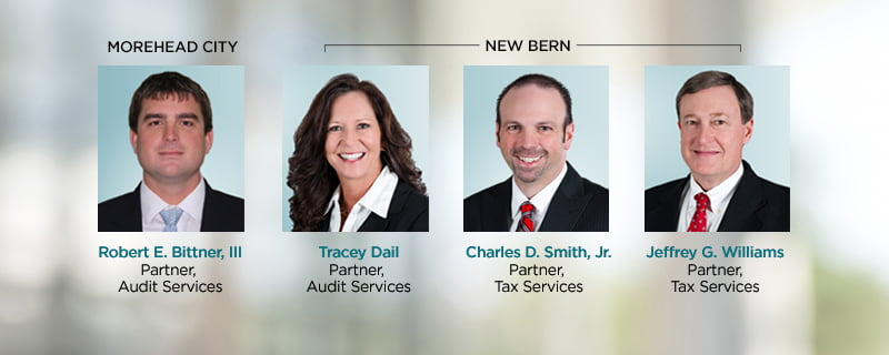 PBMares Adds Four Partners from North Carolina Offices