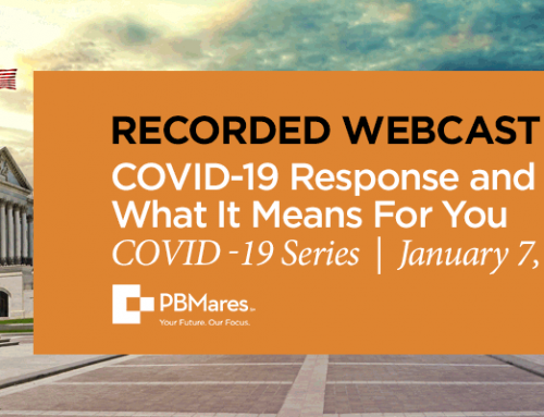 Webinar: COVID-19 Response and Relief