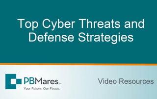 Top Cyber Threats