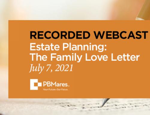 Webinar Recording: The Family Love Letter