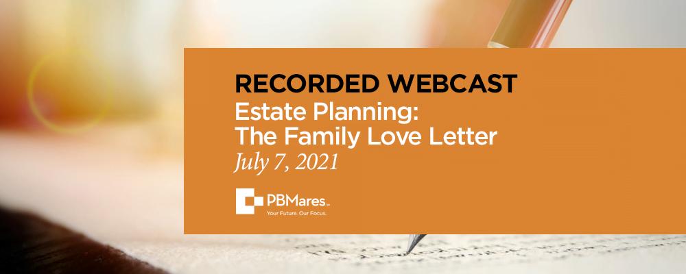 Family Love Letter
