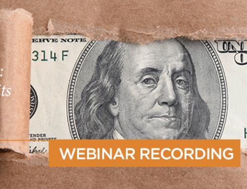 Webinar Recording: Stealth Weapon: R&D Tax Credits
